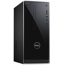 Dell Inspiron (i3668-5113BLK-PUS) Tower Desktop Black with Silver Trim | 7th Generation Intel Core i5-7400 processor | 1TB 7200 rpm Hard Driv |Tray load DVD Drive | 12GB 2400MHz DDR4 up to 16GB | Windows 10 Home 64-bit