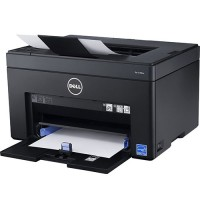Dell - C1760nw Wireless Color Printer - Black