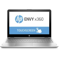 "HP Envy x360 15t 2-in-1 Touchscreen Notebook (8th Gen Intel i7-8550U, 8GB RAM, 256GB NVMe SSD, 15.6"" Full HD Touch, Windows 10 Home) Convertible Laptop Computer"