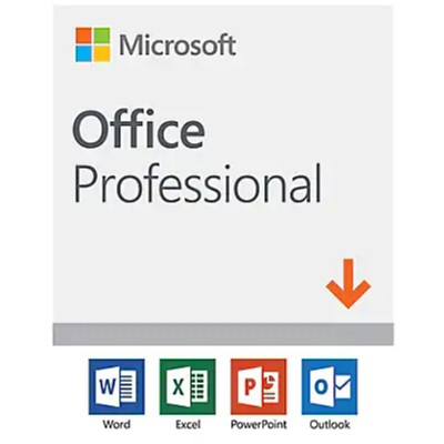 Microsoft Office Professional 2019 - License - 1 Pc