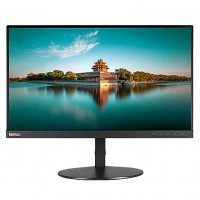 "Lenovo ThinkVision T23i-10 - LED monitor - 23"" (23"" viewable) - 1920 x 1080 Full HD (1080p) - IPS - 250 cd/m² - 1000:1 - 6 ms - HDMI, VGA, DisplayPort - black - for ThinkBook 14; ThinkCentre M715q (2nd Gen); M75; ThinkPad E14; E15; L13 Yoga; T4"