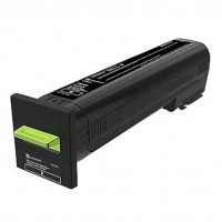 Lexmark - Extra High Yield - black - original - toner cartridge LCCP, LRP - for Lexmark CS820, CX820, CX825, CX860
