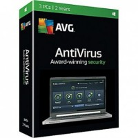 AVG ANTIVIRUS 3 USER 2 YEAR