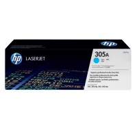 HP 305A - Cyan - original - LaserJet - toner cartridge (CE411A) - for LaserJet Pro 300 color M351a, 300 color MFP M375nw, 400 color M451, 400 color MFP M475