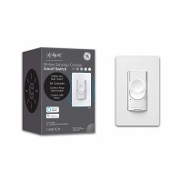 C by GE Motion Sensing Switch Dimmer for Smart Bulbs- Works with Alexa + Google Home Without Hub, Single-Pole/3-Way Replacement On/Off Toggle, White
