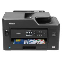 Brother MFC-J5330DW - Multifunction printer - color - ink-jet - Legal (8.5 in x 14 in) (original) - A3/Ledger (media) - up to 12 ppm (copying) - up to 35 ppm (printing) - 250 sheets - 14.4 Kbps - USB 2.0, LAN, Wi-Fi(n), USB host