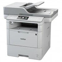 Brother MFC-L6900DW - Multifunction printer - B/W - laser - Legal (8.5 in x 14 in) (original) - A4/Legal (media) - up to 52 ppm (copying) - up to 52 ppm (printing) - 570 sheets - 33.6 Kbps - USB 2.0, Gigabit LAN, Wi-Fi(n), USB host, NFC