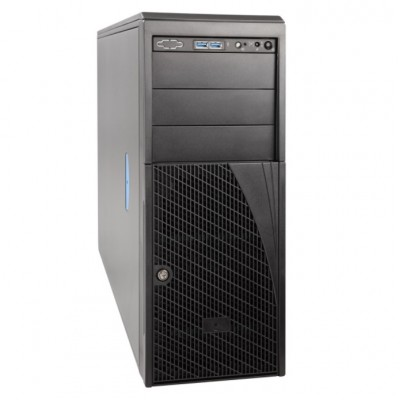 Intel Server Chassis P4304XXMUXX - Tower - 4U - SSI EEB - no power supply - cosmetic black - USB