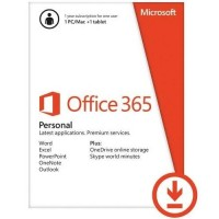 Microsoft 365 Personal - Subscription License - 1 Year - 1 Person