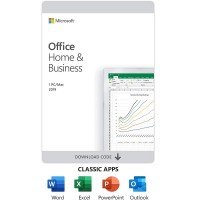 Microsoft Office Home and Business 2019 - Box pack - 1 PC/Mac - medialess - Win, Mac - English