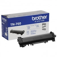 Brother TN-760 - High Yield - black - original - toner cartridge - for Brother DCP-L2550, HL-L2350, HL-L2370, HL-L2390, HL-L2395, MFC-L2710, MFC-L2730, MFC-L2750
